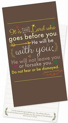 Do Not Fear Jotter Pad