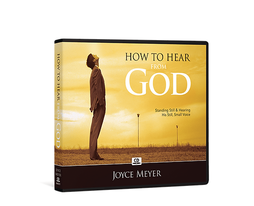 How to Hear from God by Joyce Meyer CD/Mp3