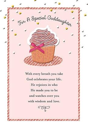 Goddaughter's birthday card