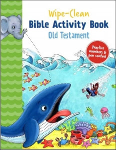 WIPE CLEAN BIBLE ACTIVITY BOOK OLD TESTAMENT