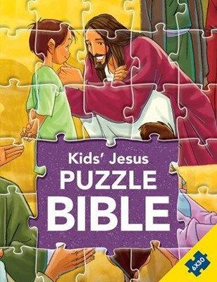 Kid's Jesus Puzzle Bible