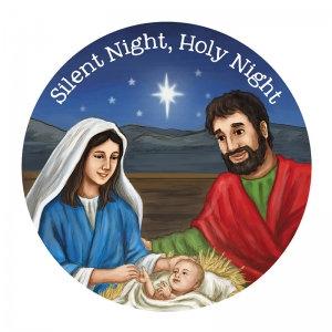 Silent Night Holy Night Fridge Magnet Christmas Gifts