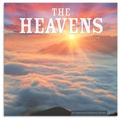 The Heavens Mini Wall Calendar 2021