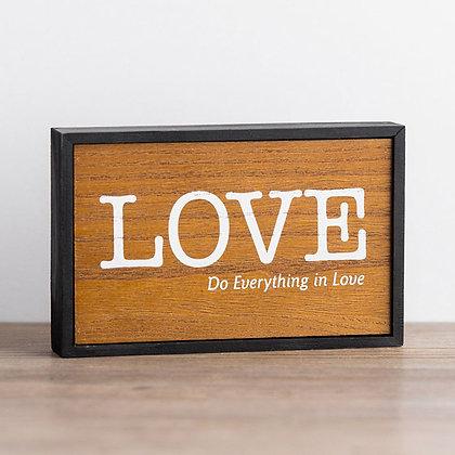 Love Box Sign
