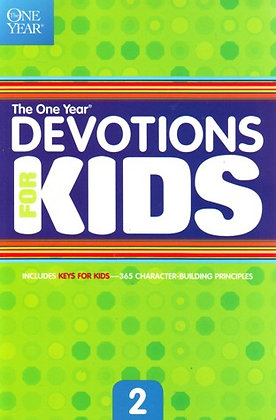 One Year Book of Devotions for Kids vol 2  ByTyndale Kids