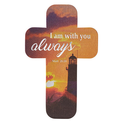 Book Mark Cross: I Am With You