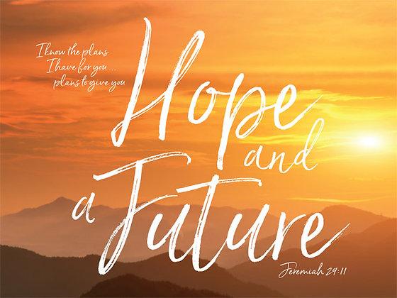 Hope And Future Wall Art