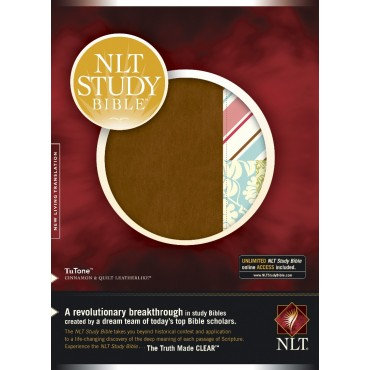 NLT Study Bible Imitation Leather New Living Translation
