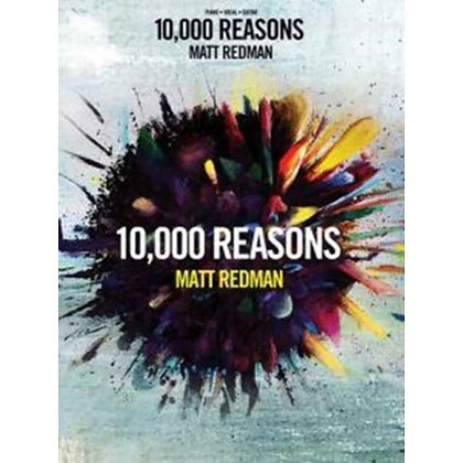 10,000 REASONS MUSIC BOOK REDMAN, MATT