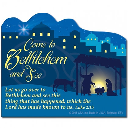 Come To Bethlehem And See Fridge Magnet Christmas Gift