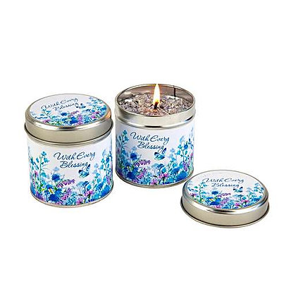 With every blessing Candle Tin EAN TLM41805