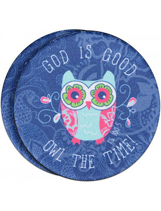 Auto Coaster - God is Good (2pk)