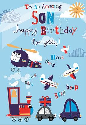 Birthday Card; Shout for joy