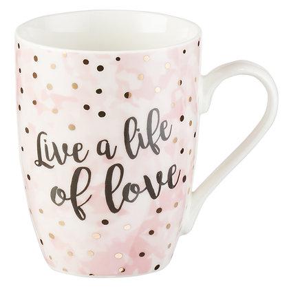 Live a Life of Love Ephesians 5:2 Coffee Mug