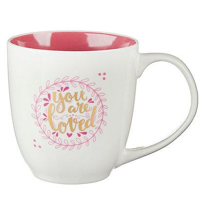 You Are Loved 1 John 4:19 Coffee Mug