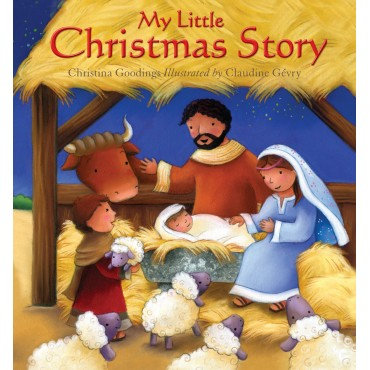 My Little Christmas StoryPack of 10 Christina Goodings, Claudine Gevry