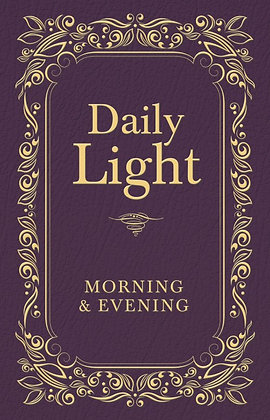 Daily Light Morning And Evening Devotion Hardback