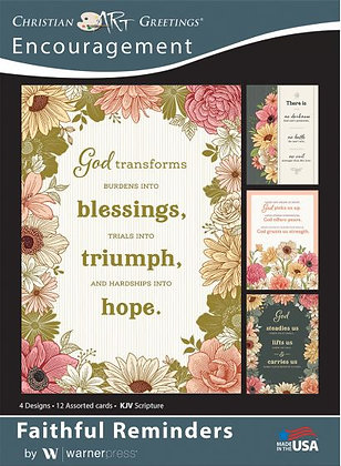 Boxed Cards Encouragement P ack Of 12