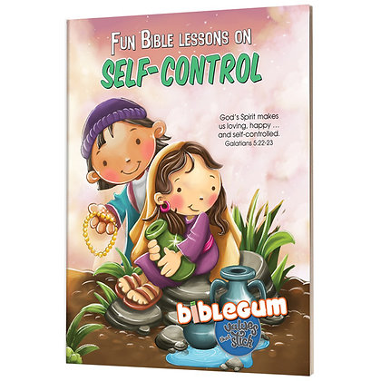 Fun Bible Lessons: Self-Control de Bezenac, Agnes & Salem