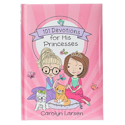 101 Devotions for His Princess Hardcover EAN : 9781432123895