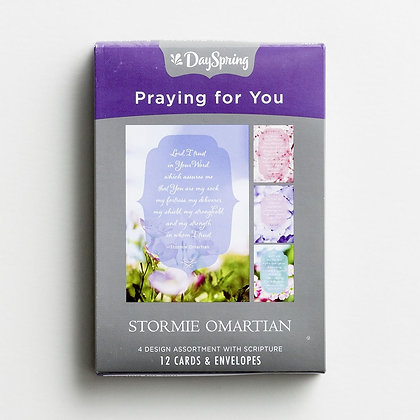 Stormie Omartian - Praying for You - 12 Boxed Cards