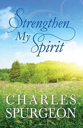 Strengthens My Spirit Paperback Lightly-Updated Devotional Readings from the Wor