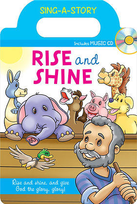 Rise and Shine Sing-a-Story Book with CD Karen Mitzo Hilderbrand