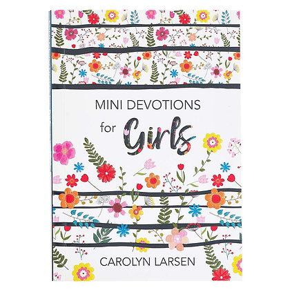 Mini Devotions for Girlsoffers 180 short and sweet devotions that will help bus