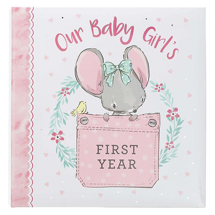 Our Baby Girl's First Year Memory Book