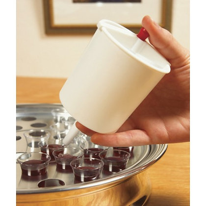BUTTON- RELEASE CUP FILLER