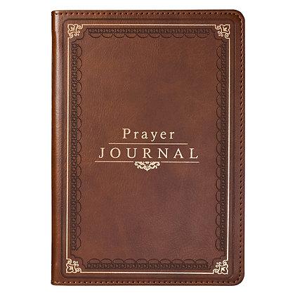 The Lord's Prayer LuxLeather Prayer Journal - Matthew 6: 9-13