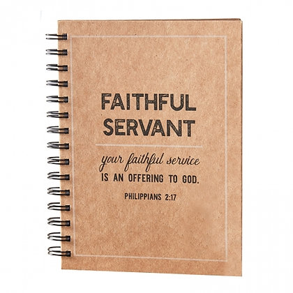 Faithful Servant Notebook