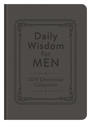 Daily Wisdom for Men 2019 Devotional CollectionPaperback
