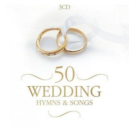 50 WEDDING HYMNS & SONGS 3 CD'S VARIOUS