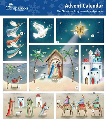The Christmas Story Advent Card