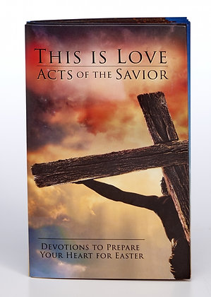 THIS IS LOVE SOFT COVER DEVOTIONAL BOOK