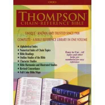 Thompson Chain Reference Bible -NKJV