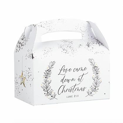Love Came Down At Christmas Treat Box