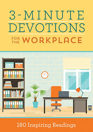 3-Minute Devotions for the Workplace 180 Inspiring Readings  Pamela L. McQuade