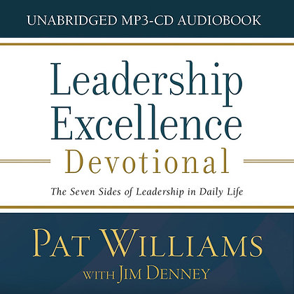 Leadership Excellence Audio CD  The Seven Sides of Leadership in Daily Life  Jim