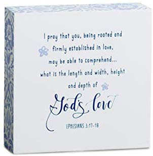 I Pray That You Be Rooted In Christ Mini Wall Art
