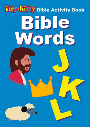 ITTY BITTY ACTIVITY BOOK - BIBLE WORDS