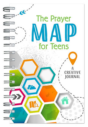 The Prayer Map for Teens Journal  A Creative Journal