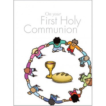 On Your First Holy Communion Hardback by Andrew Moore