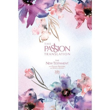 The Passion Translation New Testament (2020 Edition) Passion in Plum: