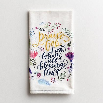 Praise God Kitchen Or Tea Towel