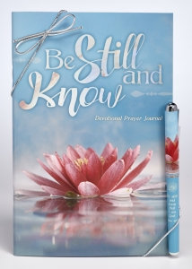 Be Still And Know Prayer Journal & Pen Gift Set