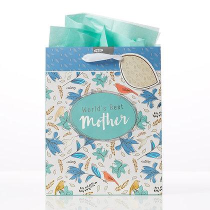 World's Best Mother - Proverbs 31:28 Medium Gift Bag