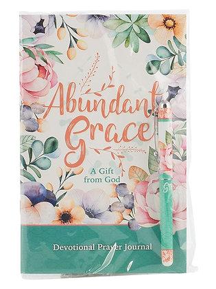 Abundant Grace Prayer Journal And Pen Gift Set