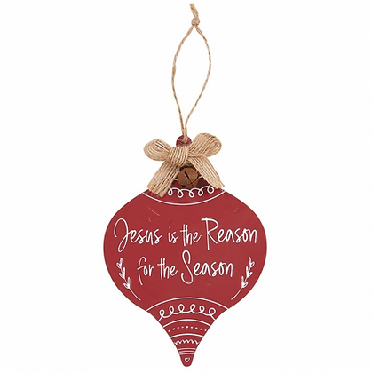 Jesus Is The Reason For The Season Christmas Tree Ornament